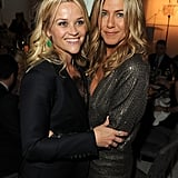 She shared a sweet moment with Reese Witherspoon at the Elle Women in Hollywood tribute in October 2011.