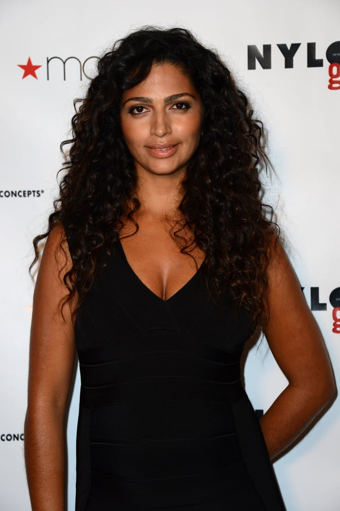 Camila Alves glowed at the celebration of the Nylon Guys and Macy's Inc. party.