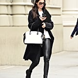 Kendall L-O-V-E-S Her Leather Trousers