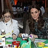 Kate Attended a Children's Tea Party in Wembley, London