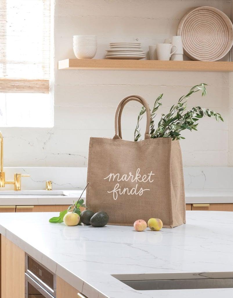 Market Finds Reusable Shopping Bag