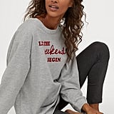 H&M Pajama Sweatshirt and Leggings