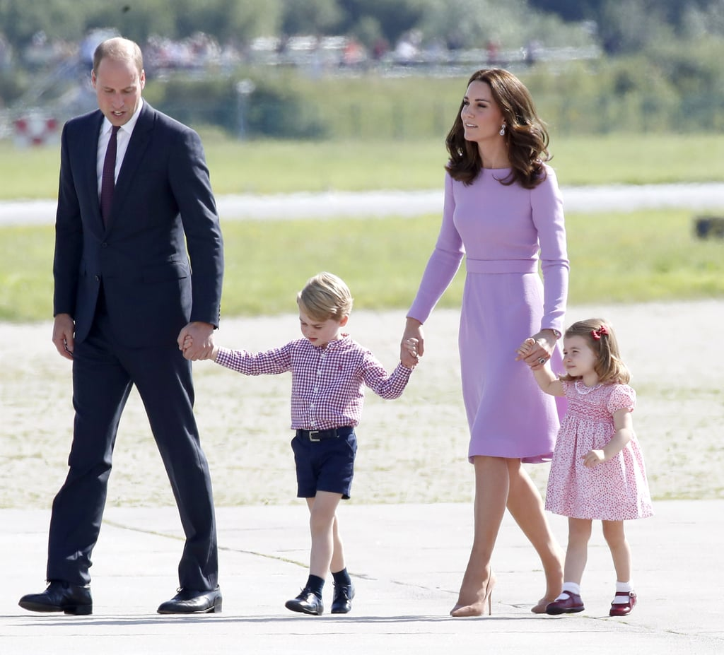 Kate and Will brought along their kids for their royal tour.