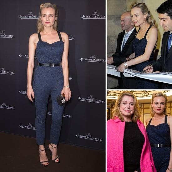 Diane Kruger Pictures Wearing Jason Wu Jumpsuit in Paris