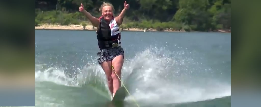 This 90-Year-Old Waterskiing Great-Grandma Is Your New Fitness Inspiration