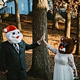 Quirky Christmas Wedding