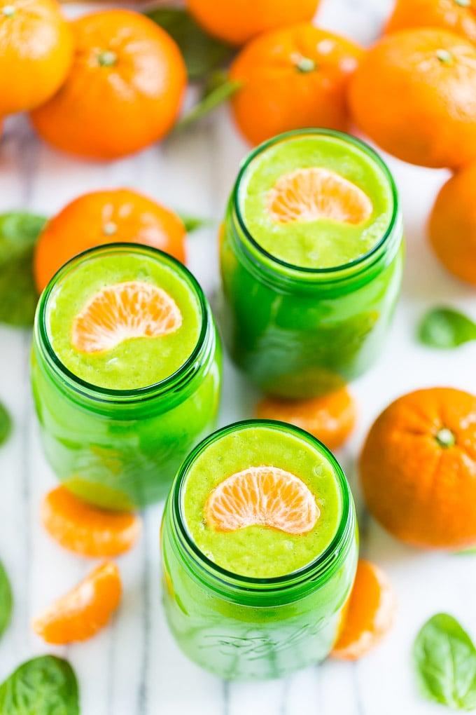 Orange Avocado Smoothie