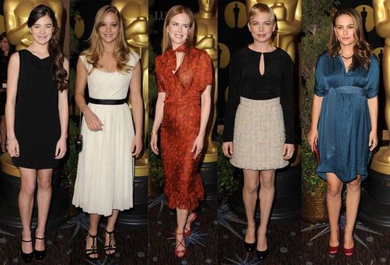 83rd Annual Academy Awards Luncheon Style 2011-02-07 15:37:58
