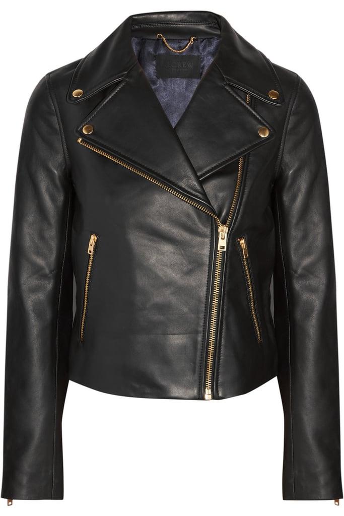 J.Crew Leather Jacket ($550)