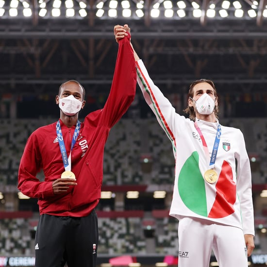 Olympic High Jumpers Share the Gold Medal | Photos