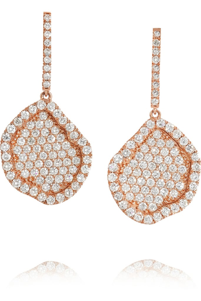 For the occasions when your simple studs just won't do, Kimberly McDonald's jewels were designed for making heads turn, just like these Kimberly McDonald 18-carat rose gold diamond earrings ($16,510).