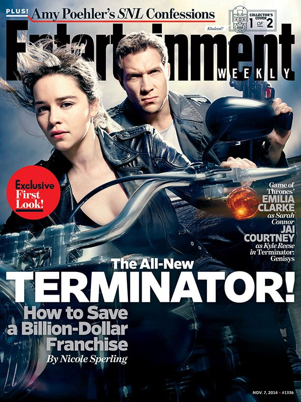 Terminator: Genisys Entertainment Weekly Covers