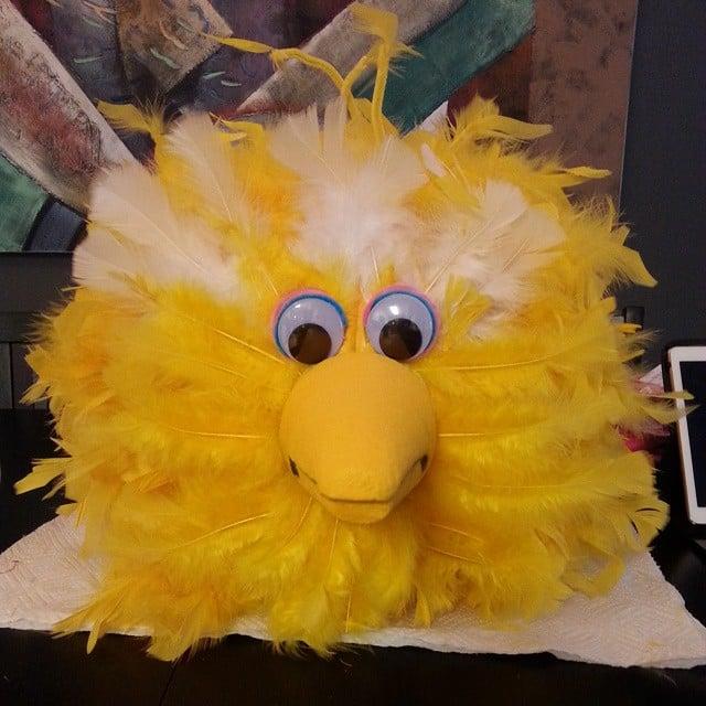 Big Bird Painted Pumpkin Ideas For Halloween Popsugar