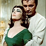 Elizabeth with Richard Burton Cleopatra, 1963.