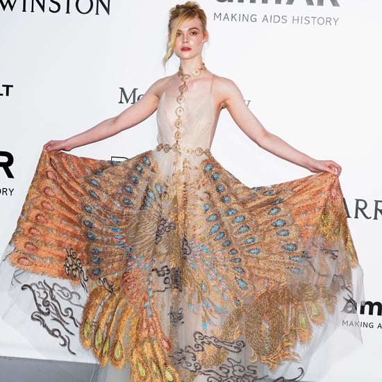 Elle Fanning's Dress at amfAR Gala Cannes 2016