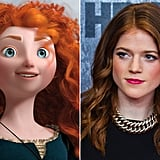 Princess Merida — Rose Leslie