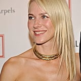 Naomi Watts attended the Tribeca Ball in NYC.