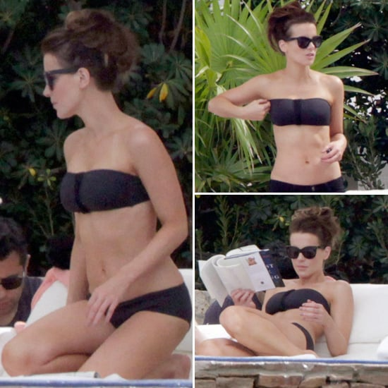 Pictures: Kate Beckinsale Wearing Black Bikini In Mexico