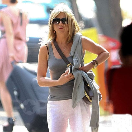 Jennifer Aniston Wearing the Sheer Trend