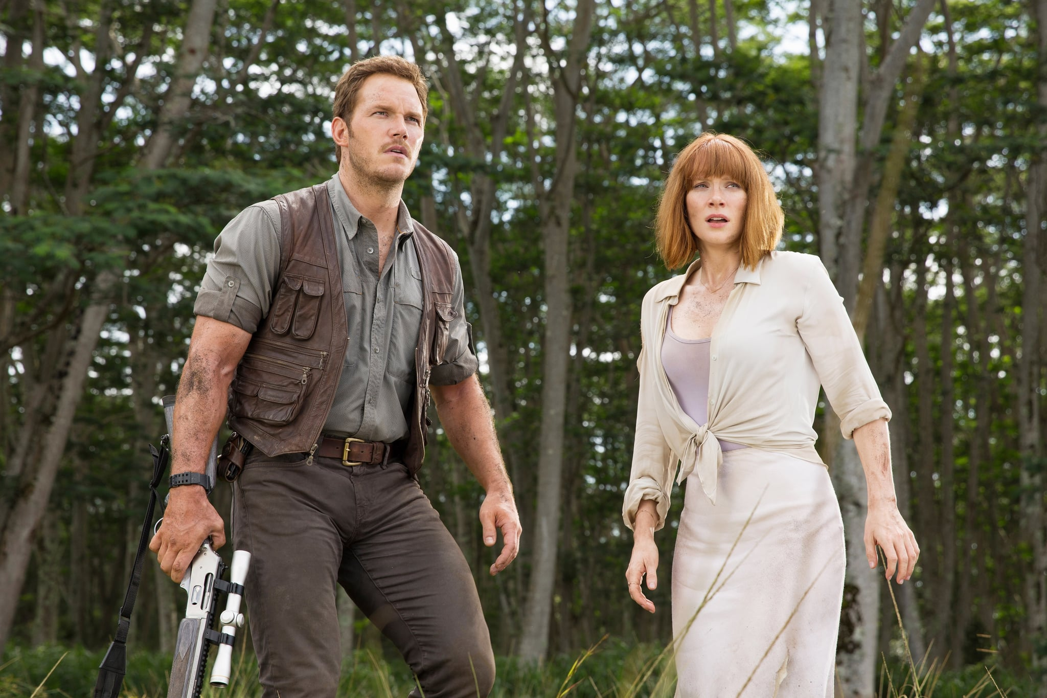 Claire and Owen From Jurassic World | Halloween Costumes Inspired by TV and  Movie Couples | POPSUGAR Celebrity UK Photo 59