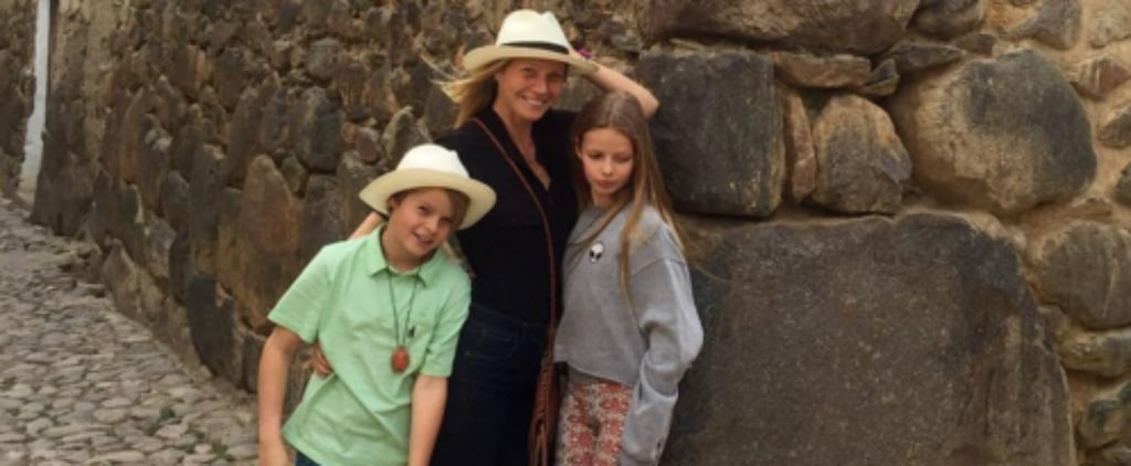 Gwyneth Paltrow Enjoys a Relaxing Vacation With Her 2 Kids in Peru