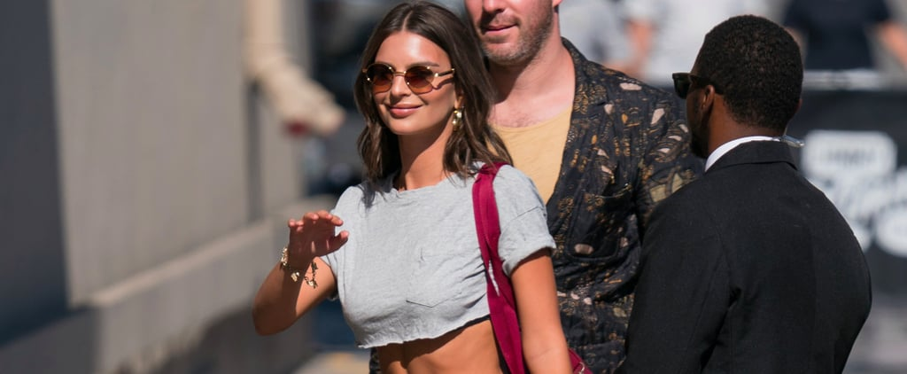Emily Ratajkowski Just Wore the Pair of Shoes You'd Never Expect to See With Track Pants