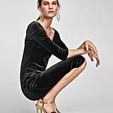 Zara Velvet Tube Dress