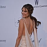 Alessandra Ambrosio at the amfAR gala in Cannes.