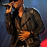 Taio Cruz got the crowd on their feet.