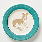 Dog Biography Canape Plate