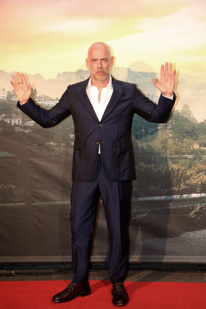 Filippo Nigro at the Once Upon a Time in Hollywood premiere in Rome.