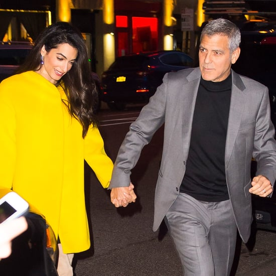 George and Amal Clooney Out in NYC April 2018