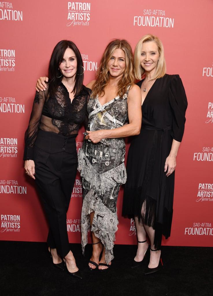 Jennifer Aniston's Printed John Galliano Slip Dress