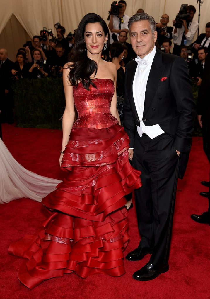 All eyes were on George and Amal when they stepped out together at the Met Gala in May 2015.
