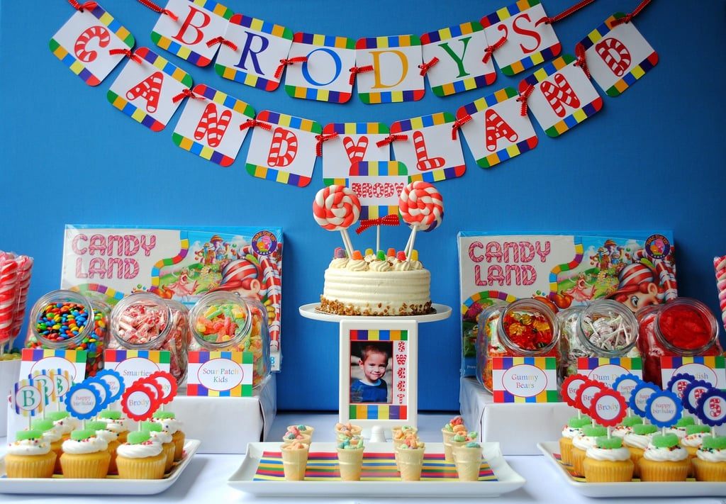 a candyland party toddler birthday party ideas popsugar moms