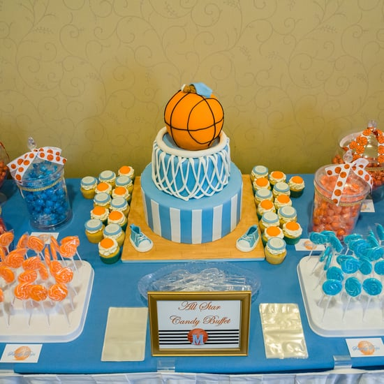 Basketball-Themed Baby Shower Ideas