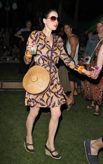 Celebrities Party It Up at Coachella Festival Day 1