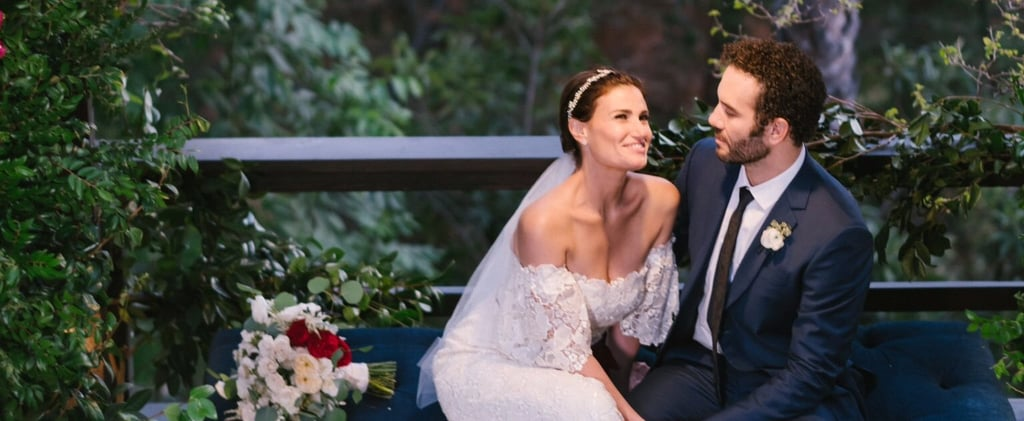 Idina Menzel's Carolina Herrera Wedding Dress