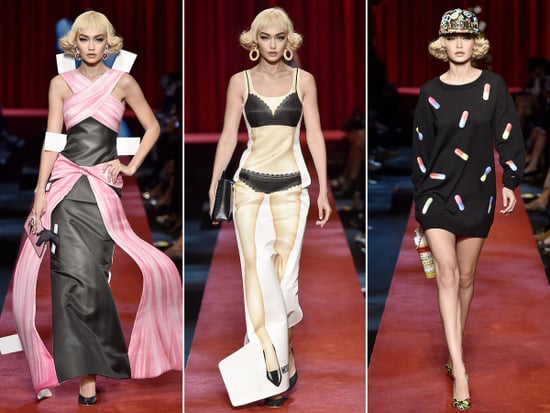 Hat Trick Hadid! Gigi Walks 3 Catwalks in 1 Day in Milan, Transforms into a Paper Doll for Moschino