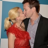 Jaime King and husband Kyle Newman at the Instyle summer celebration.
