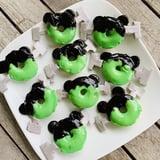 Mickey Mouse Frankenstein Doughnuts Recipe