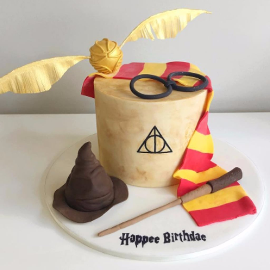 Harry Potter Ice Cream Cake