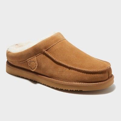 Genuine Shearling Clog Slippers