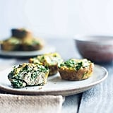 Spinach Breakfast Egg Muffins With Artichokes