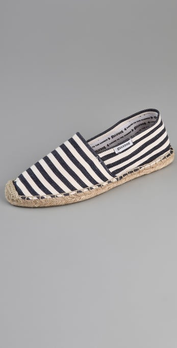 Going to the beach? Walking the city streets in Paris? These espadrilles will hold their own no matter what.  Soludos Striped Espadrilles ($36)