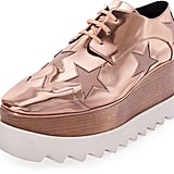 Stella McCartney Elyse Platform Star Oxford, Copper/Tea Rose ($1,100)