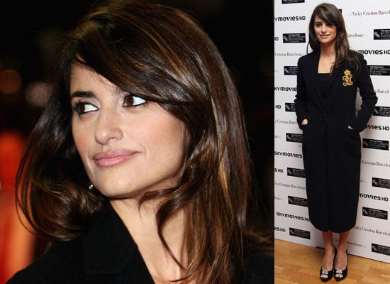 Photos Of Penelope Cruz At The 2008 London Film Festival At A Screening Of Vicky Cristina Barcelona