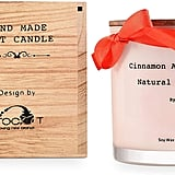 Apple and Cinnamon Candle