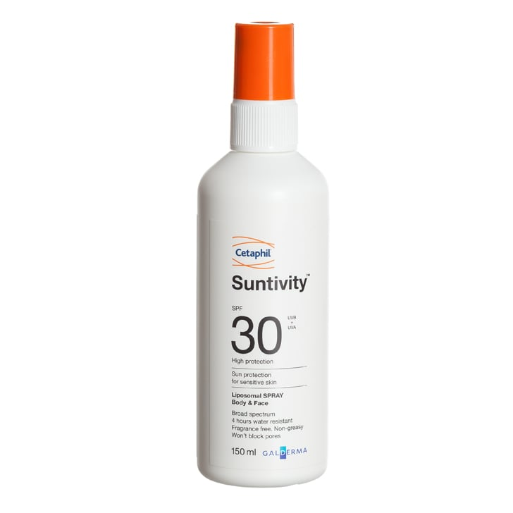 Cetaphil Suntivity Liposomal Spray Body and Face SPF30, $16.79