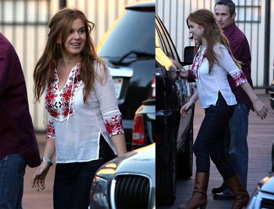 Isla Fisher in LA